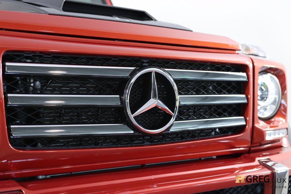 2017 Mercedes Benz G Class G 550 4x4 Squared #6