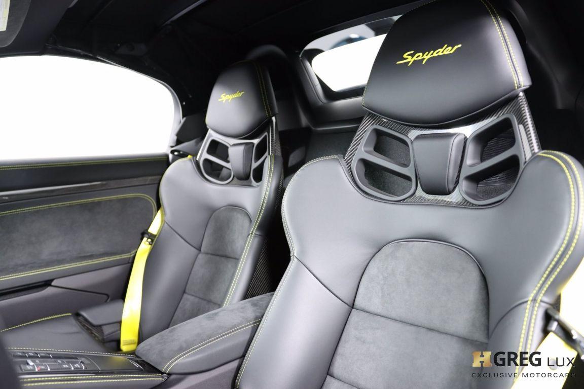 2020 Porsche 718 Spyder  #2