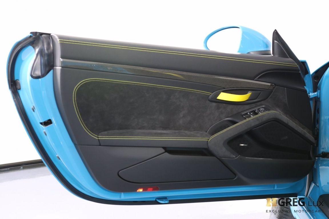 2020 Porsche 718 Spyder  #40