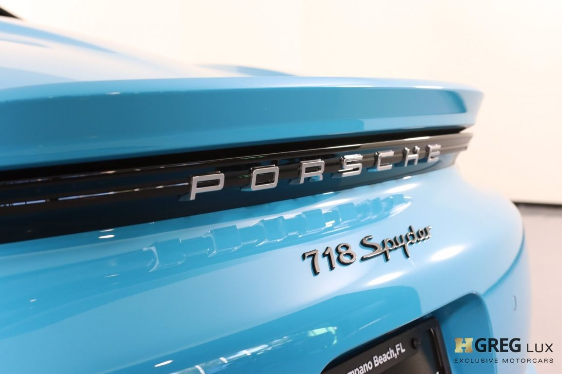 2020 Porsche 718 Spyder  #24