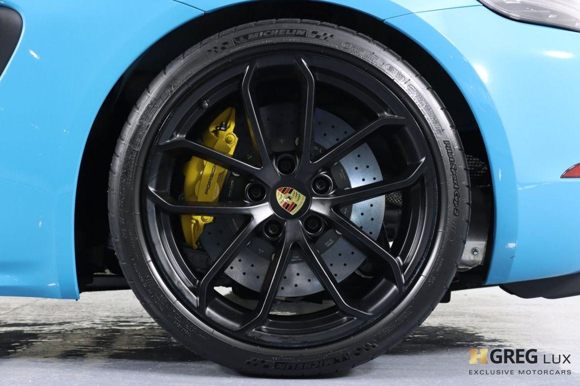 2020 Porsche 718 Spyder  #32