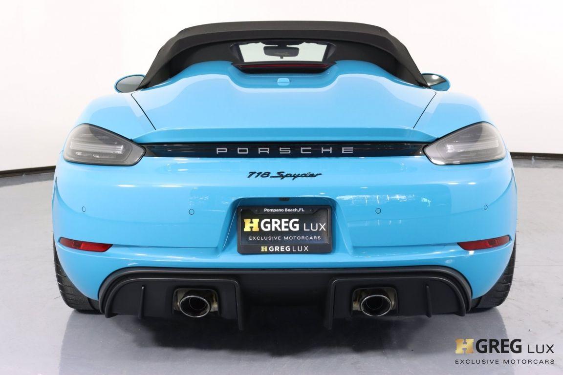 2020 Porsche 718 Spyder  #21