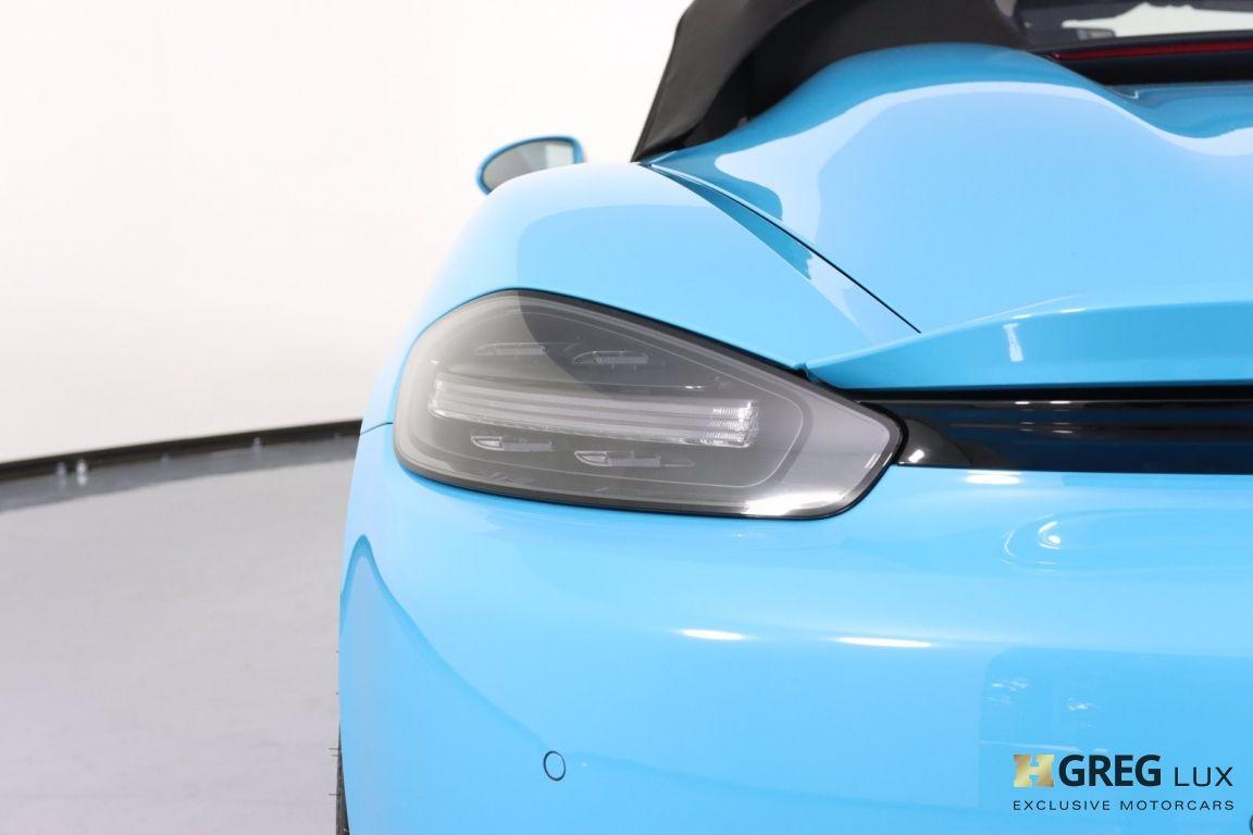 2020 Porsche 718 Spyder  #22