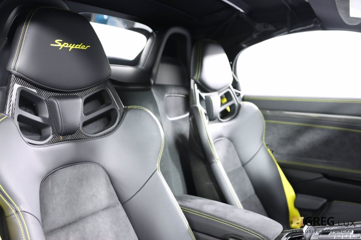 2020 Porsche 718 Spyder  #37