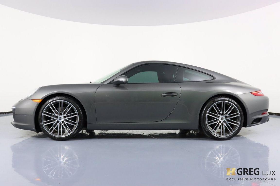 2017 Porsche 911 Carrera 4 #22