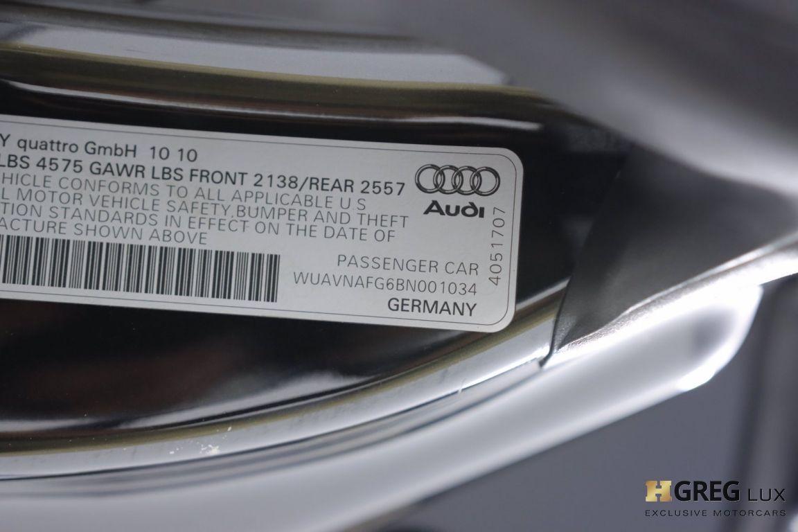 2011 Audi R8 5.2L #47