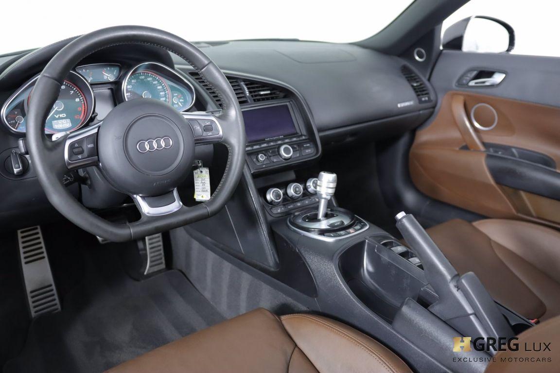 2011 Audi R8 5.2L #1