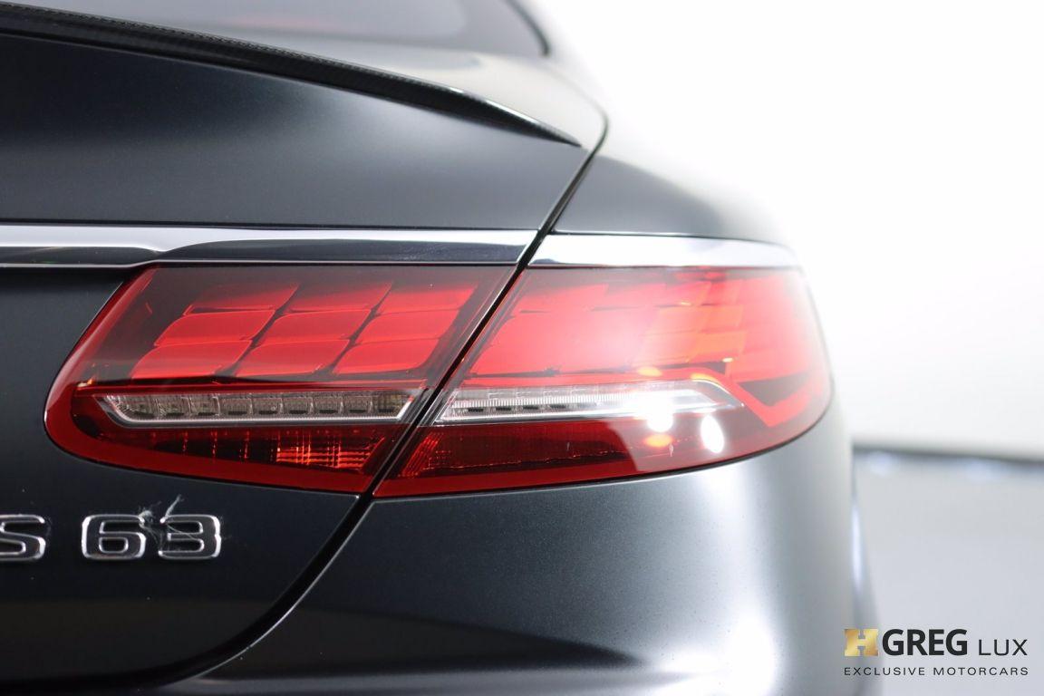 2020 Mercedes Benz S Class AMG S 63 #17