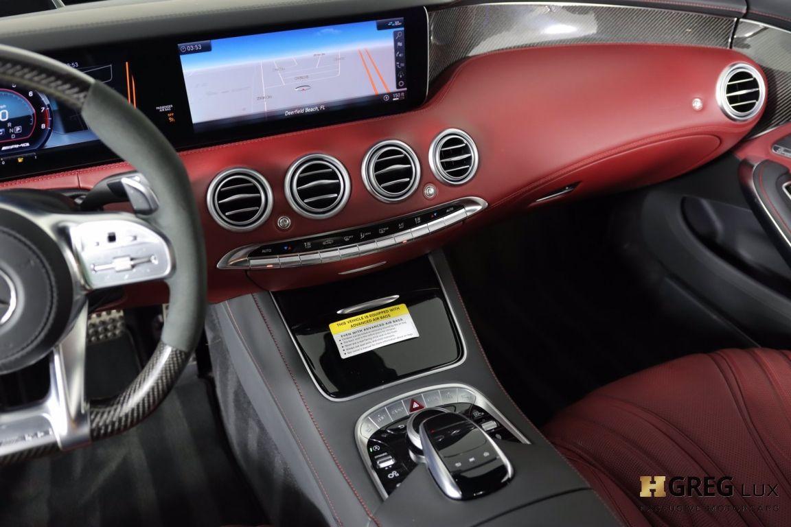 2020 Mercedes Benz S Class AMG S 63 #41