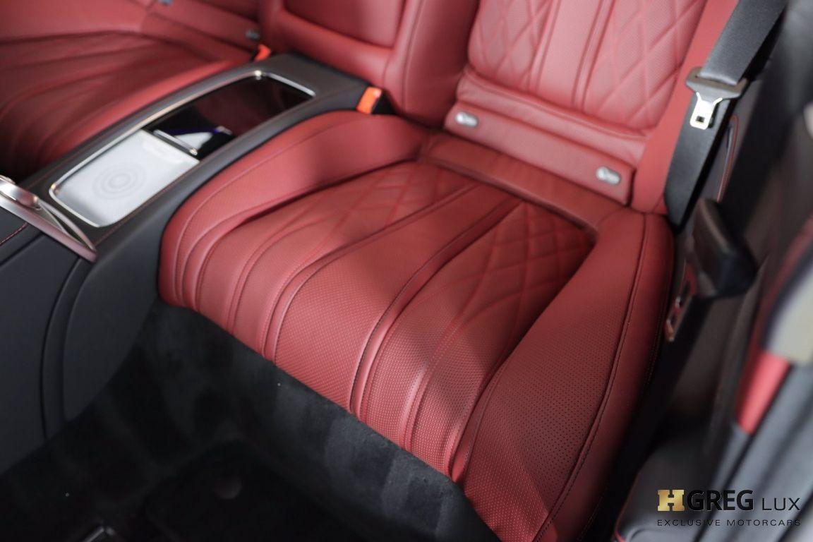 2020 Mercedes Benz S Class AMG S 63 #31