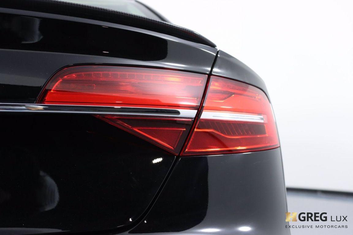 2017 Audi S8 plus 4.0T #21