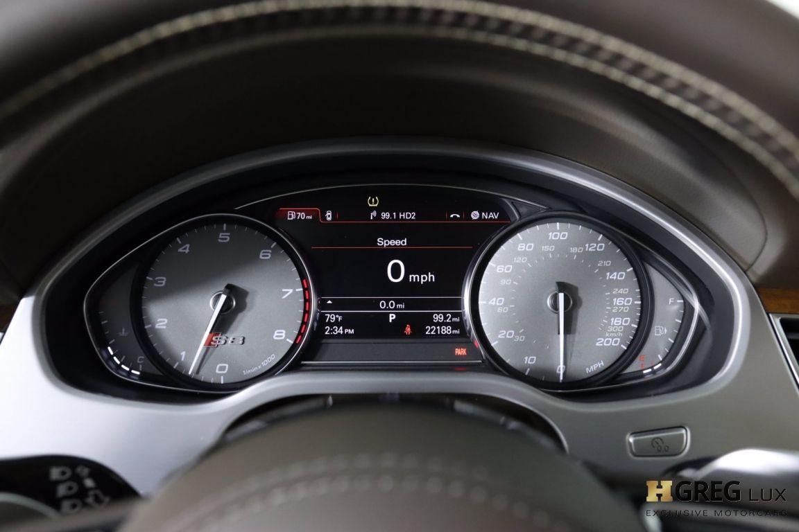 2017 Audi S8 plus 4.0T #62