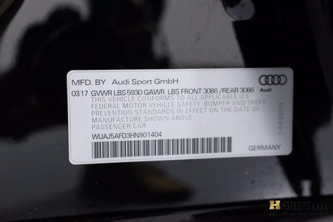 2017 Audi S8 plus 4.0T #71