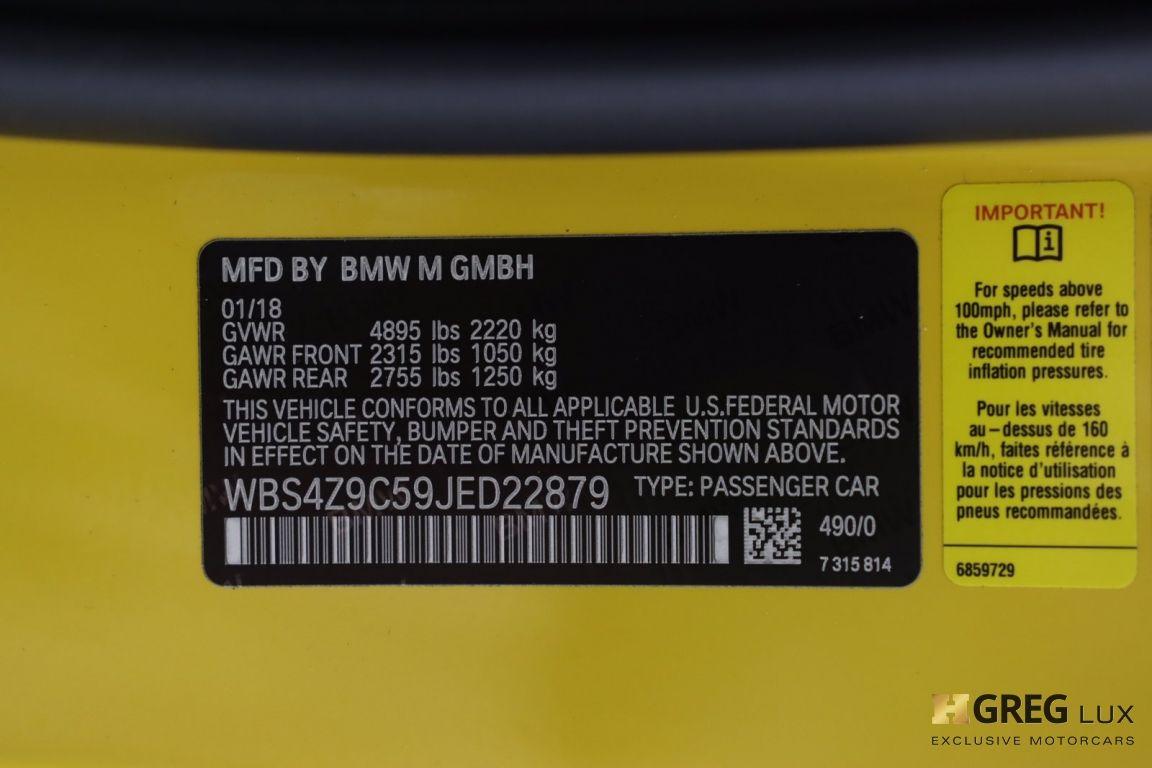 2018 BMW M4  #74