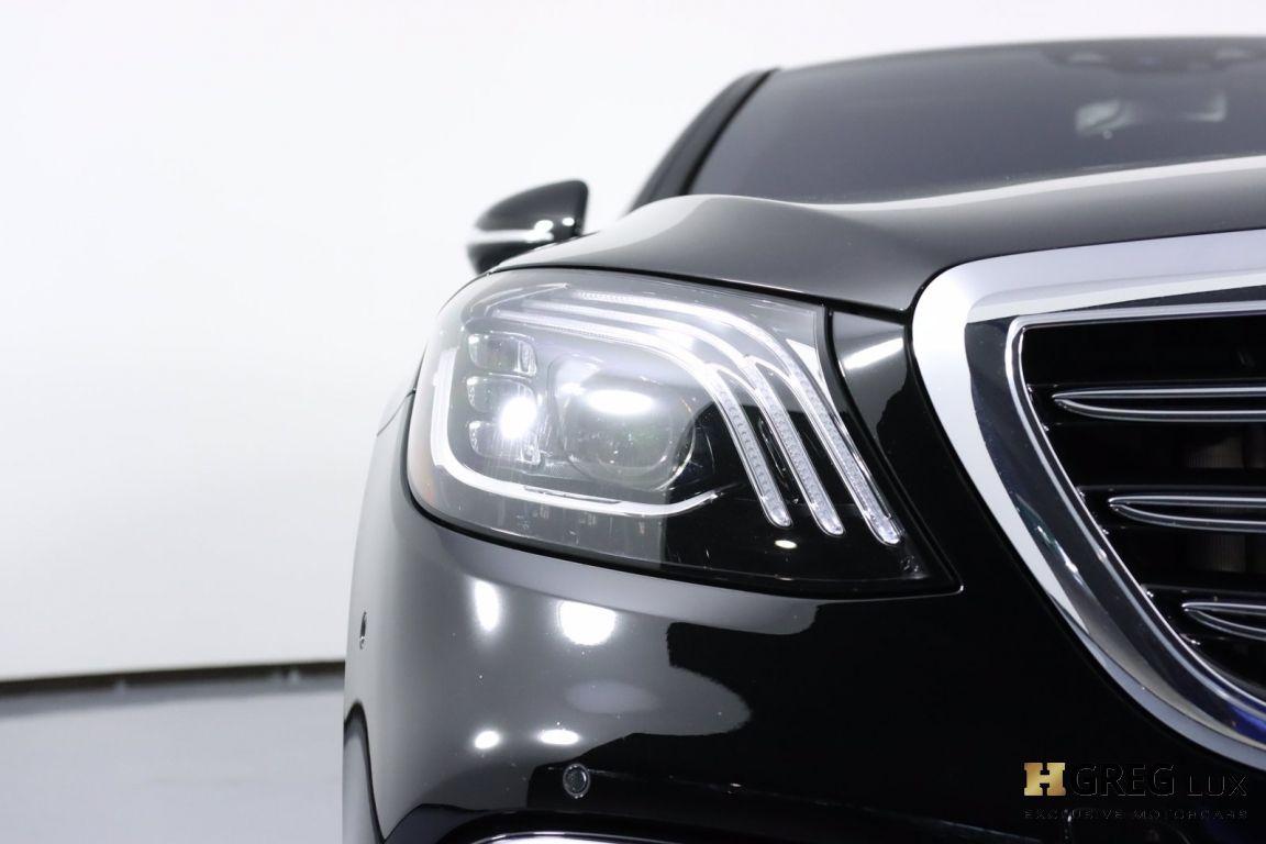 2020 Mercedes Benz S Class AMG S 63 #4