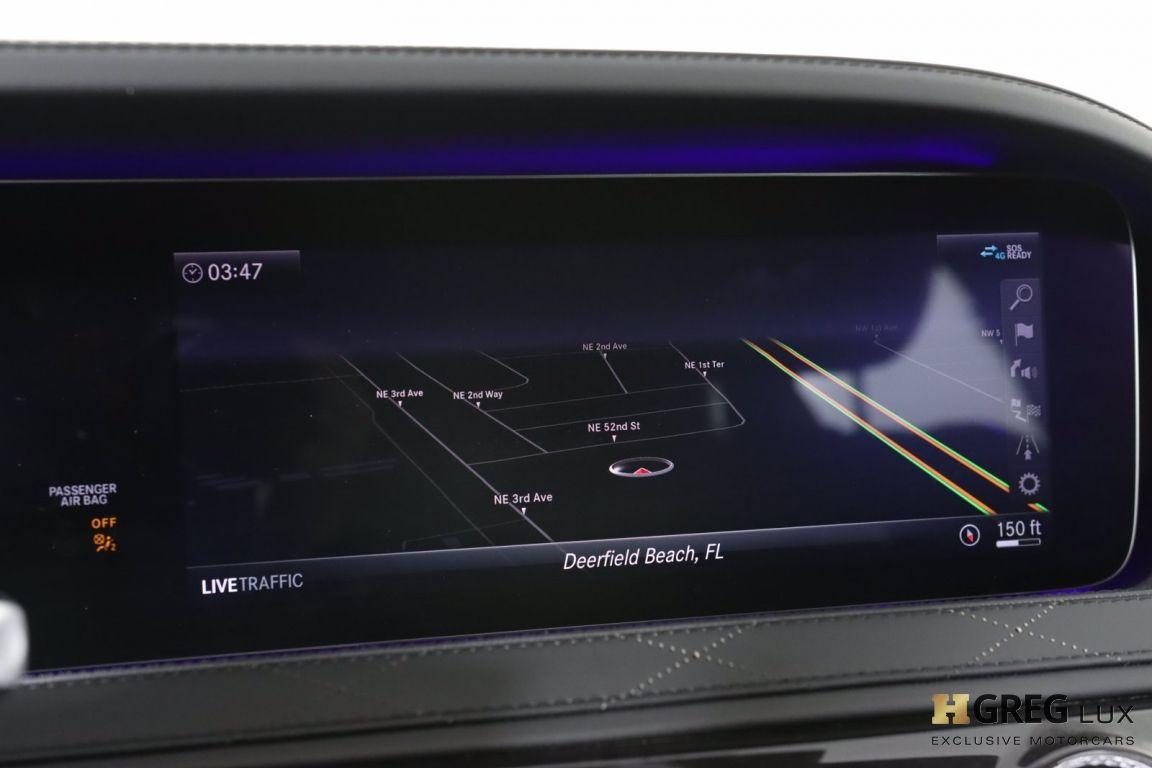 2020 Mercedes Benz S Class AMG S 63 #50