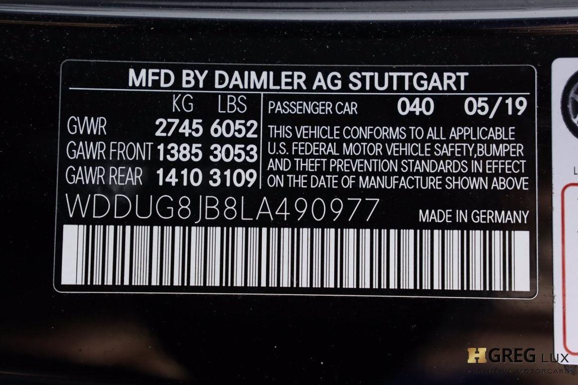 2020 Mercedes Benz S Class AMG S 63 #76