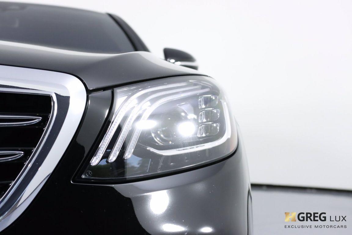 2020 Mercedes Benz S Class AMG S 63 #5