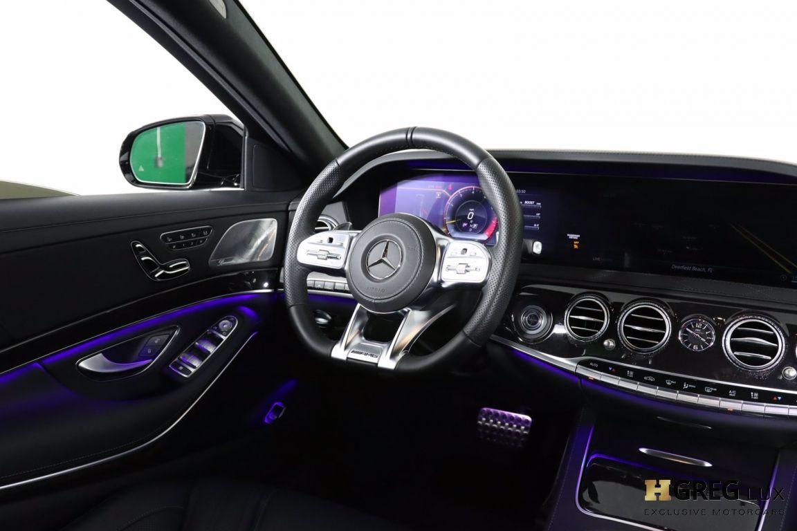 2020 Mercedes Benz S Class AMG S 63 #57