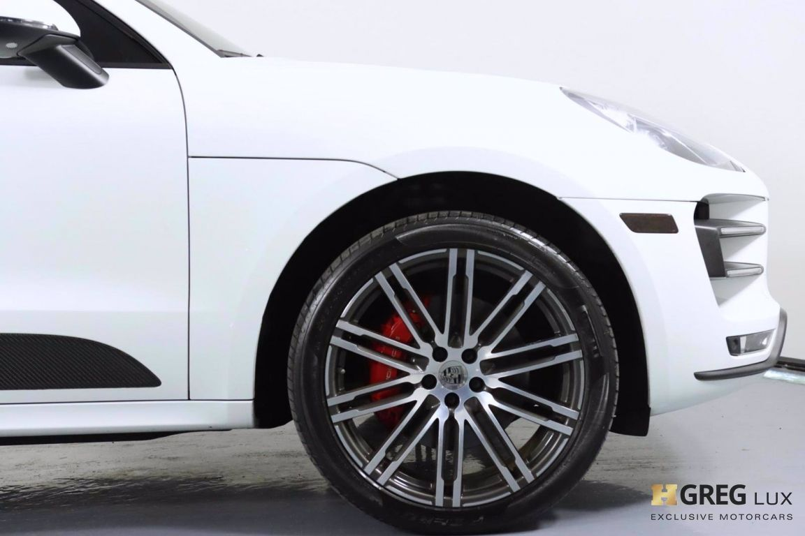 2018 Porsche Macan Turbo #11