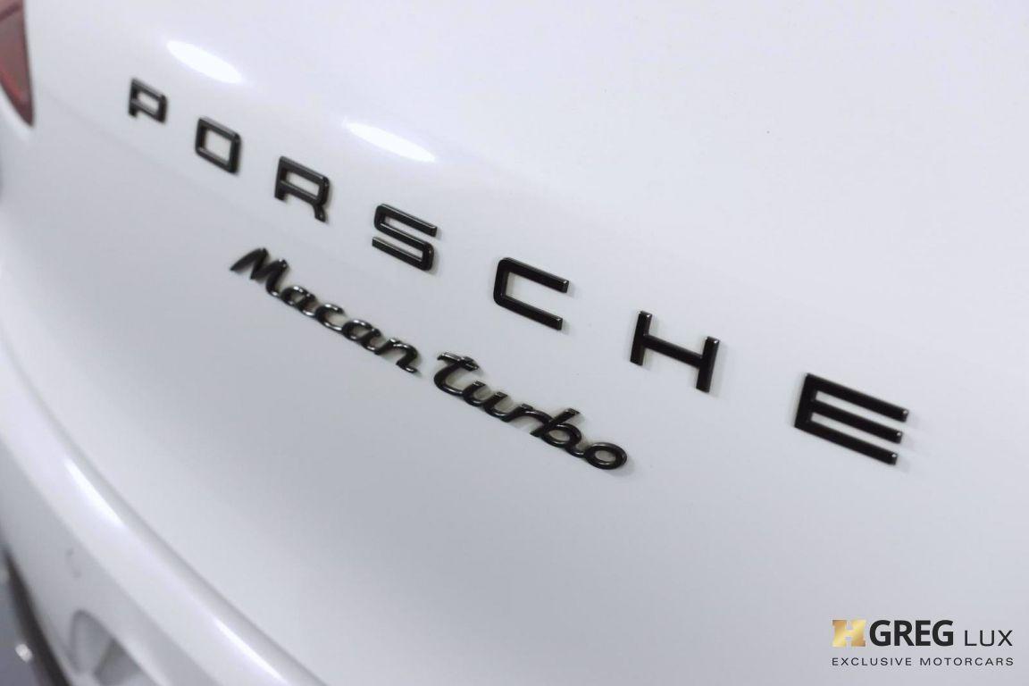 2018 Porsche Macan Turbo #21