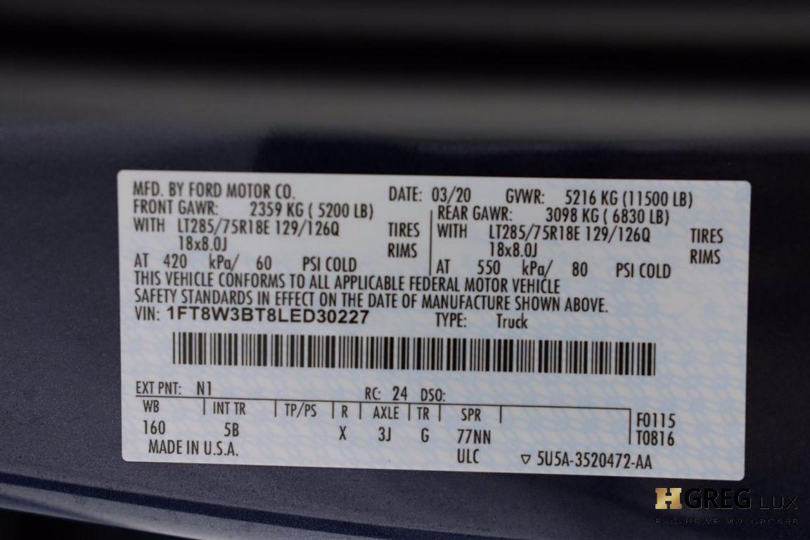 2020 Ford Super Duty F 350 SRW LARIAT #74