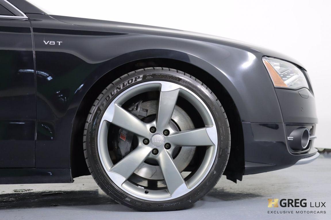 2013 Audi S8 4.0T #11
