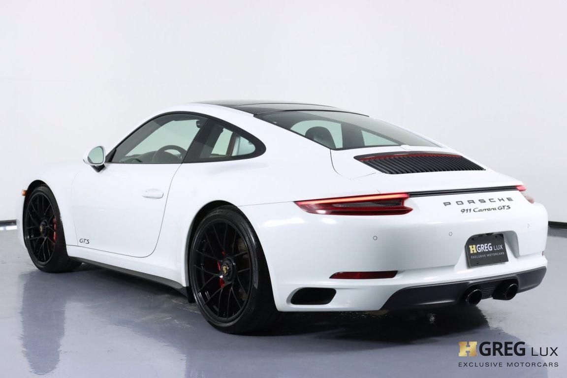 2018 Porsche 911 Carrera 4 GTS #22
