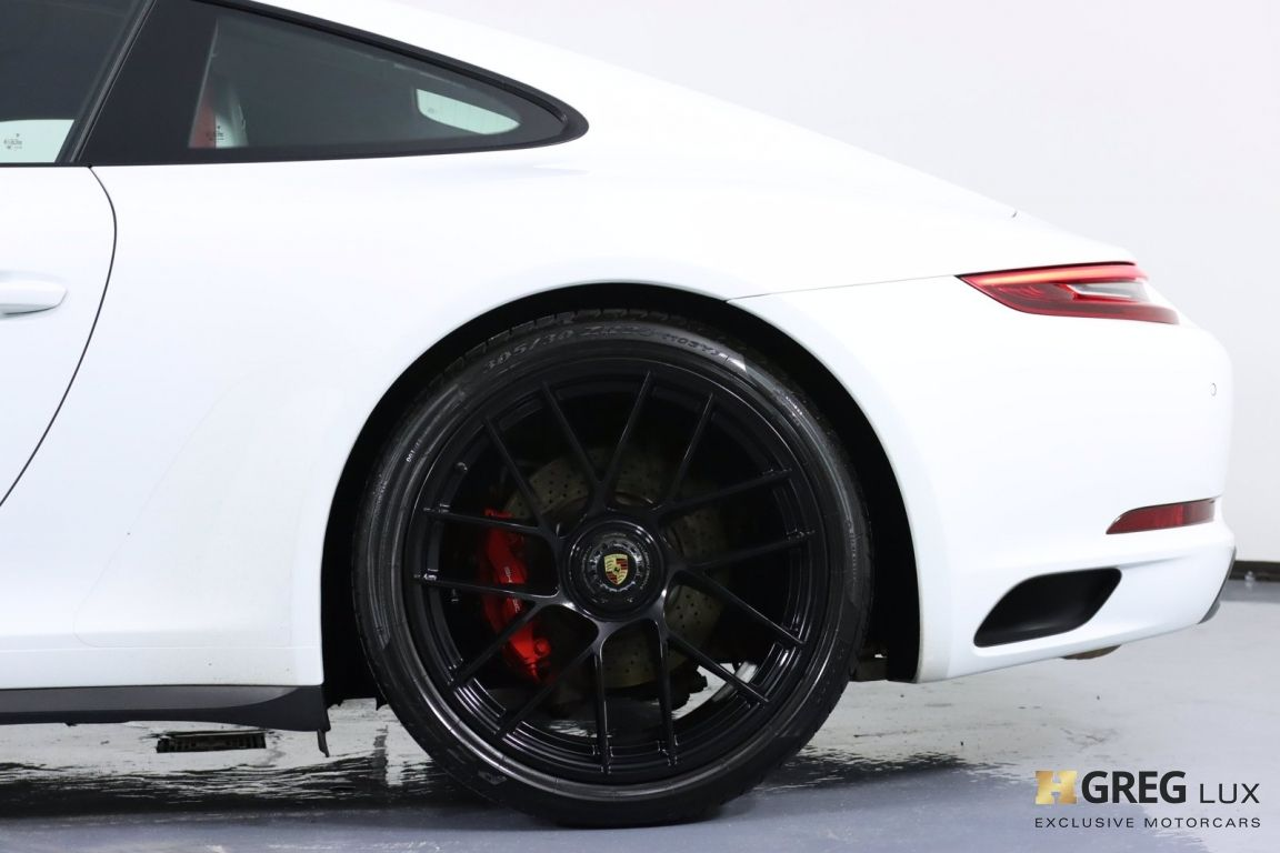 2018 Porsche 911 Carrera 4 GTS #27
