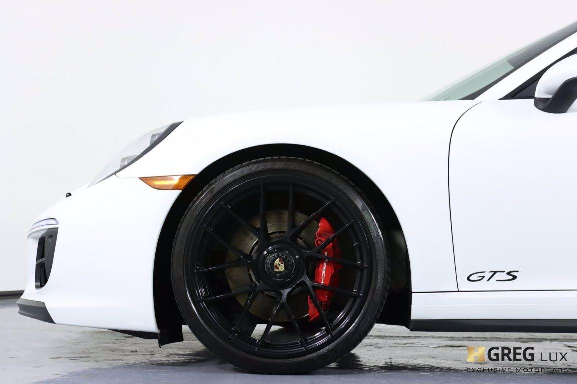 2018 Porsche 911 Carrera 4 GTS #24