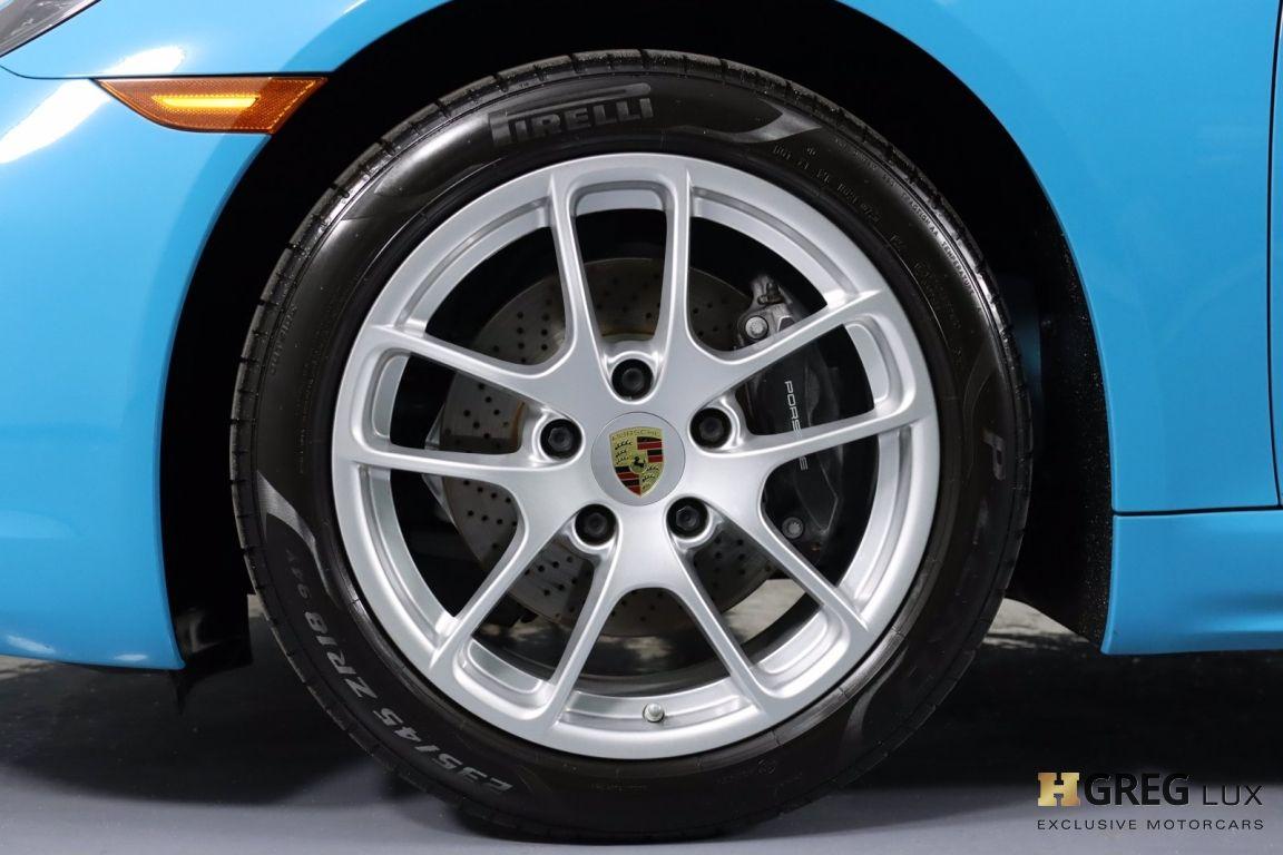 2018 Porsche 718 Cayman  #25