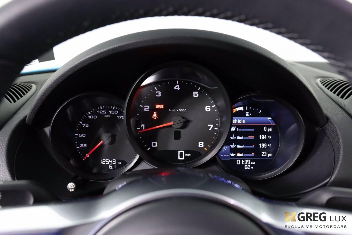 2018 Porsche 718 Cayman  #46