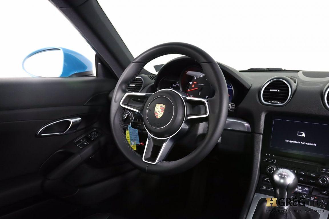 2018 Porsche 718 Cayman  #44