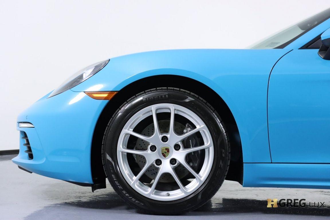 2018 Porsche 718 Cayman  #24