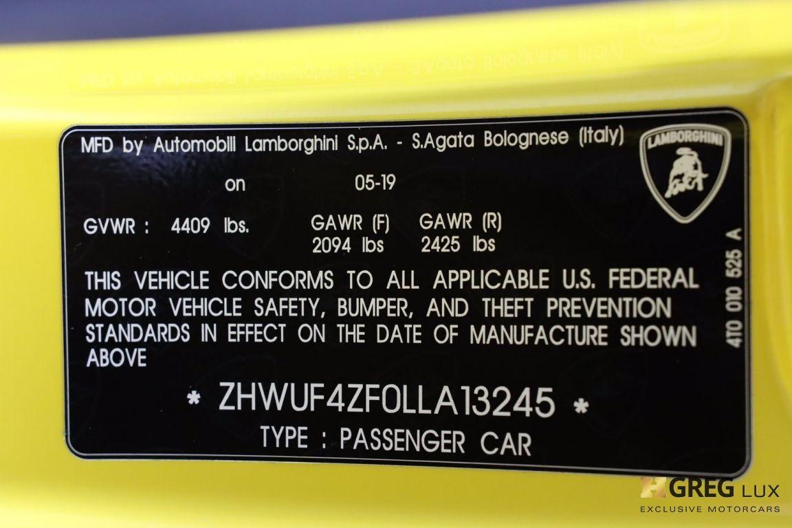 2020 Lamborghini Huracan EVO  #68