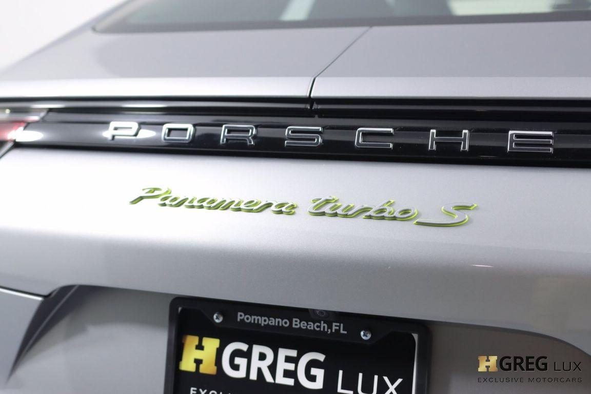 2018 Porsche Panamera Turbo S E-Hybrid #19