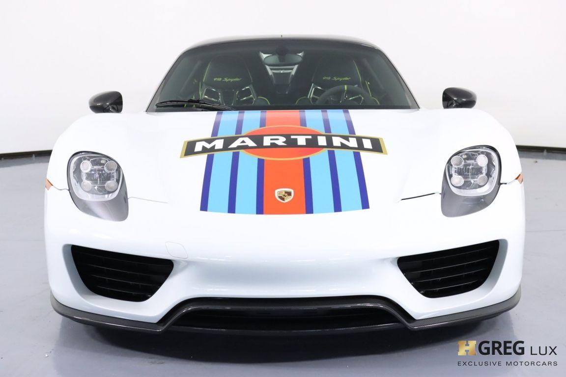 2015 Porsche 918 Spyder  #3