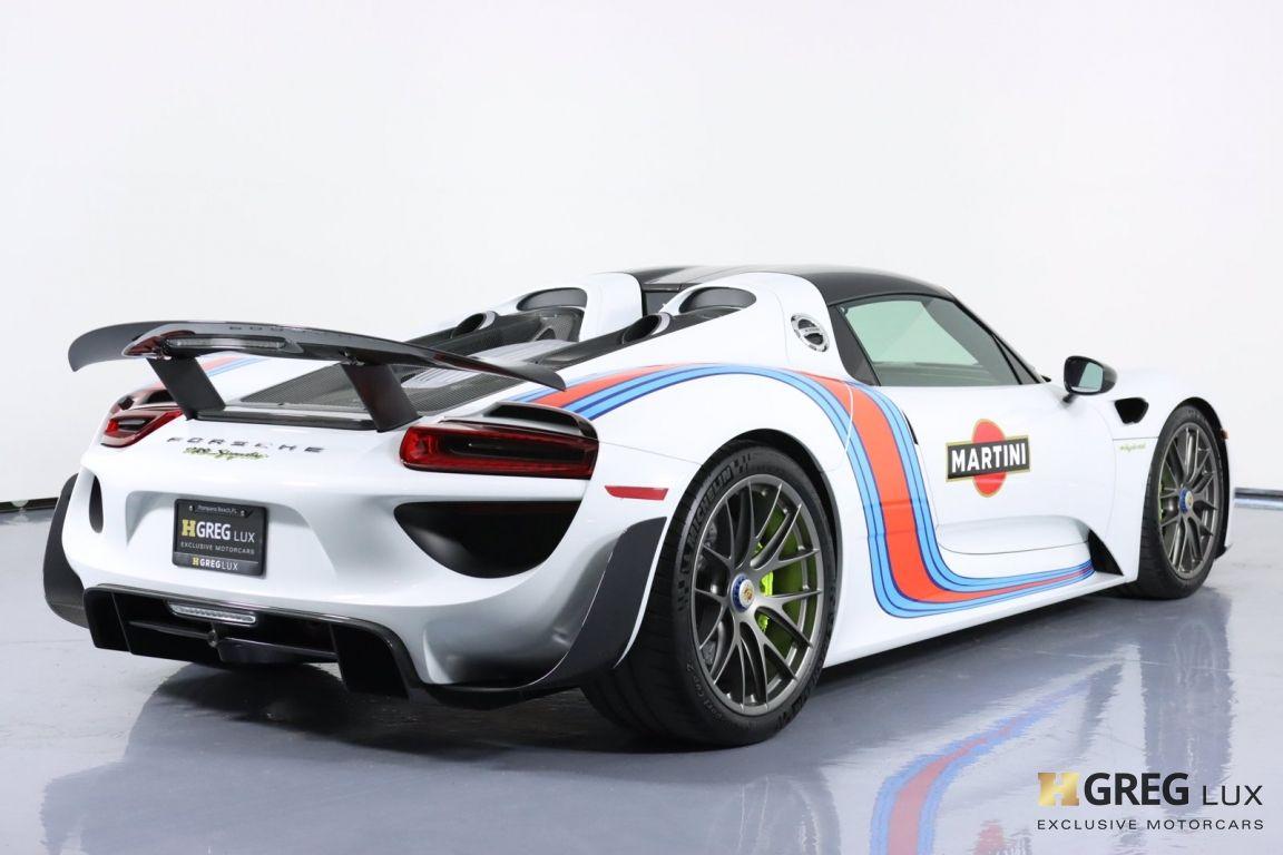 2015 Porsche 918 Spyder  #19