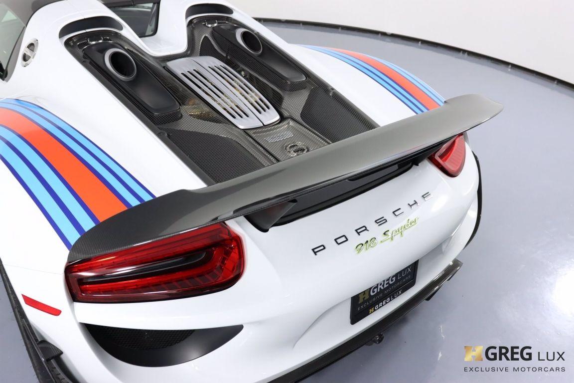 2015 Porsche 918 Spyder  #25