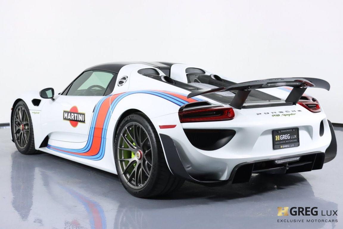 2015 Porsche 918 Spyder  #27