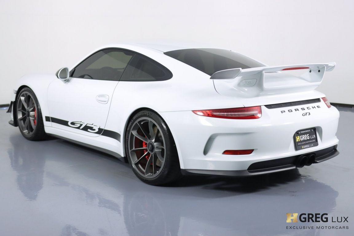 2016 Porsche 911 GT3 #21