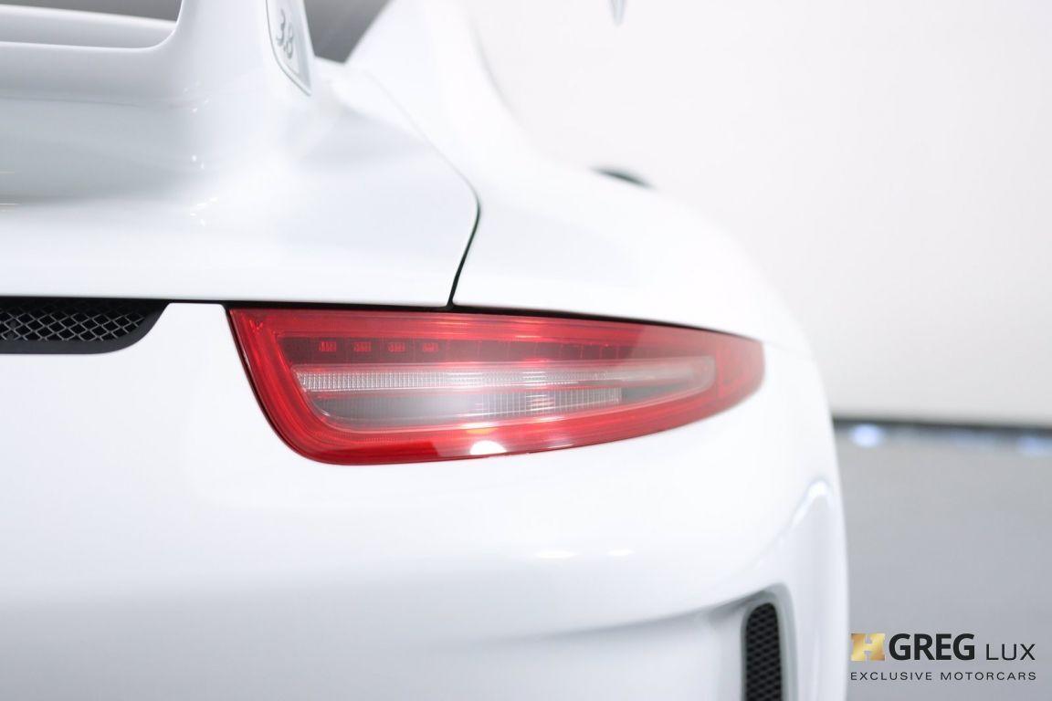 2016 Porsche 911 GT3 #20