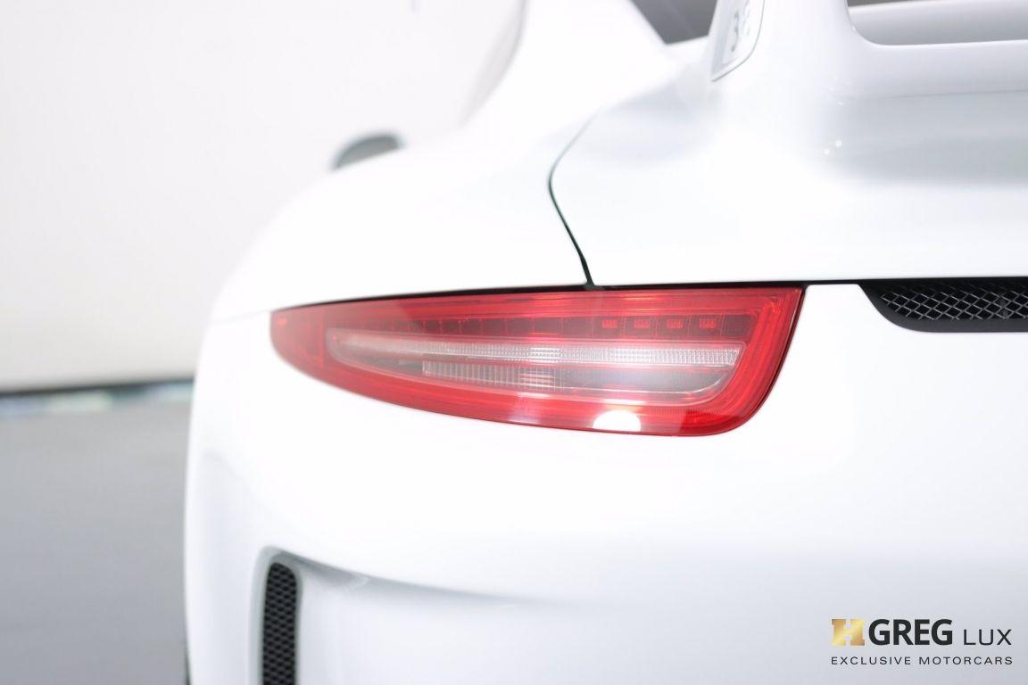 2016 Porsche 911 GT3 #19