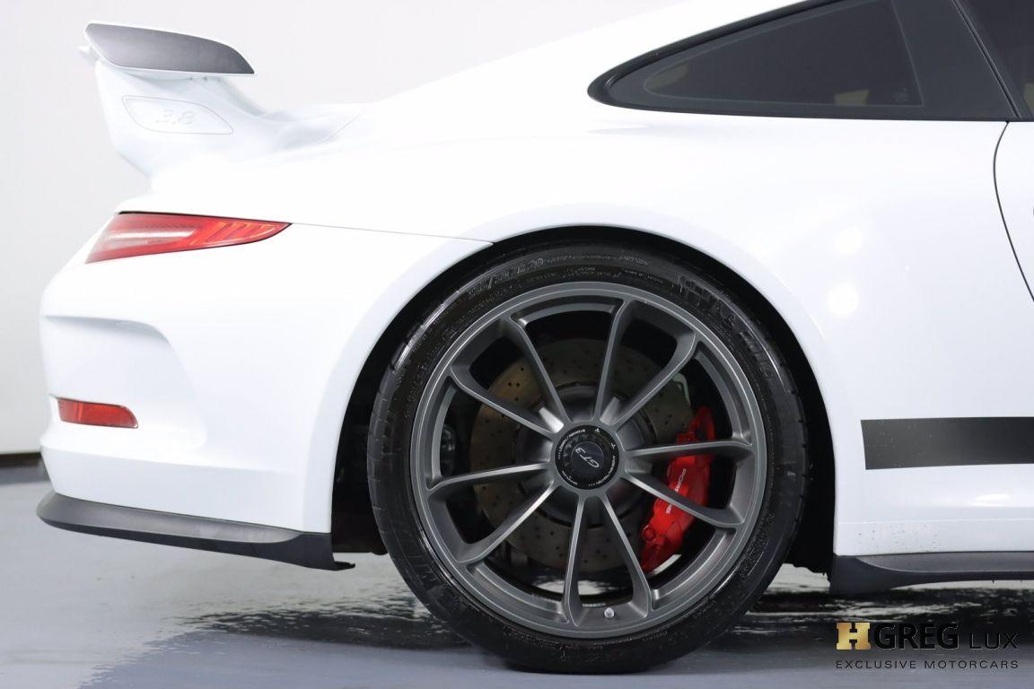 2016 Porsche 911 GT3 #14