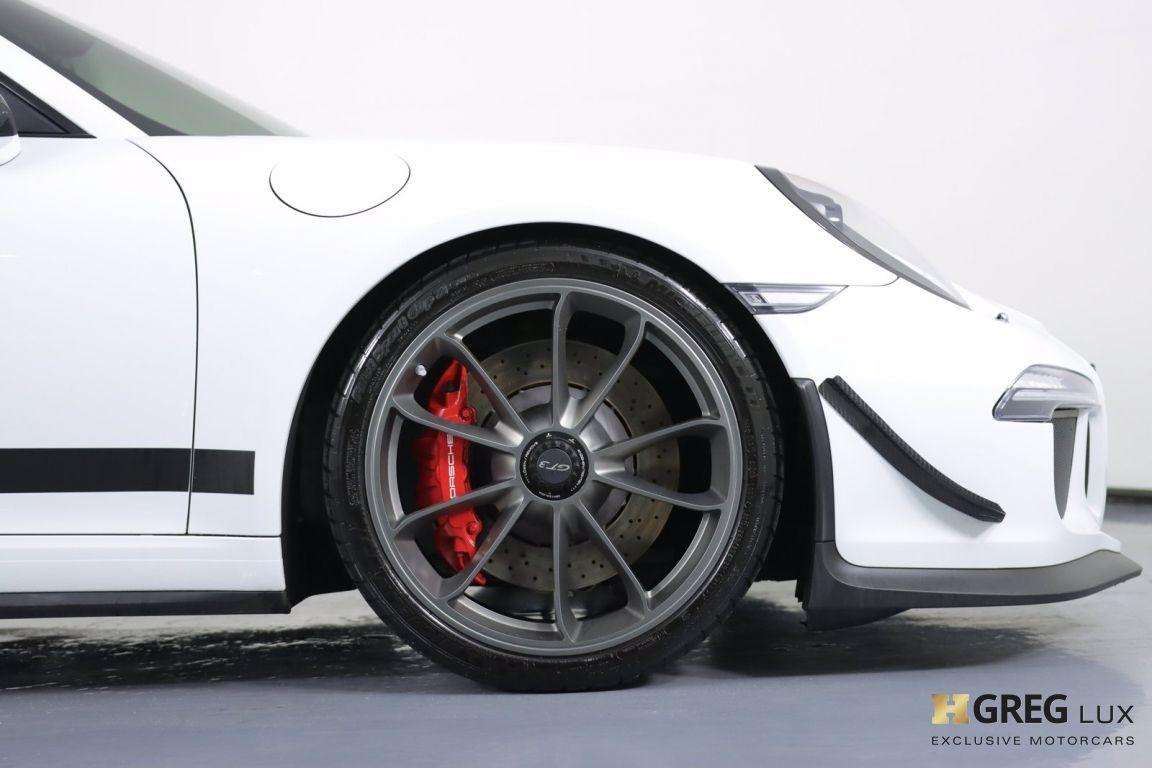 2016 Porsche 911 GT3 #11
