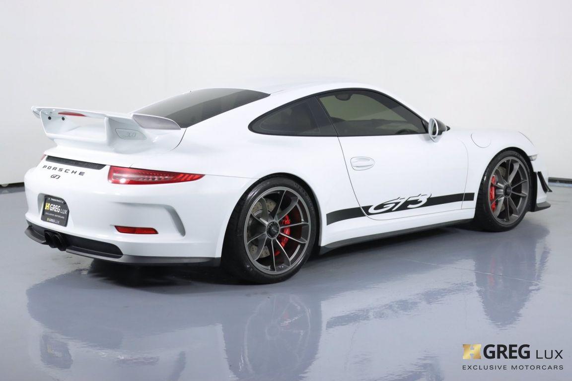 2016 Porsche 911 GT3 #17