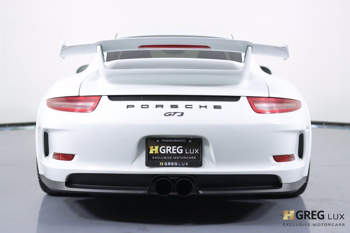 2016 Porsche 911 GT3 #18