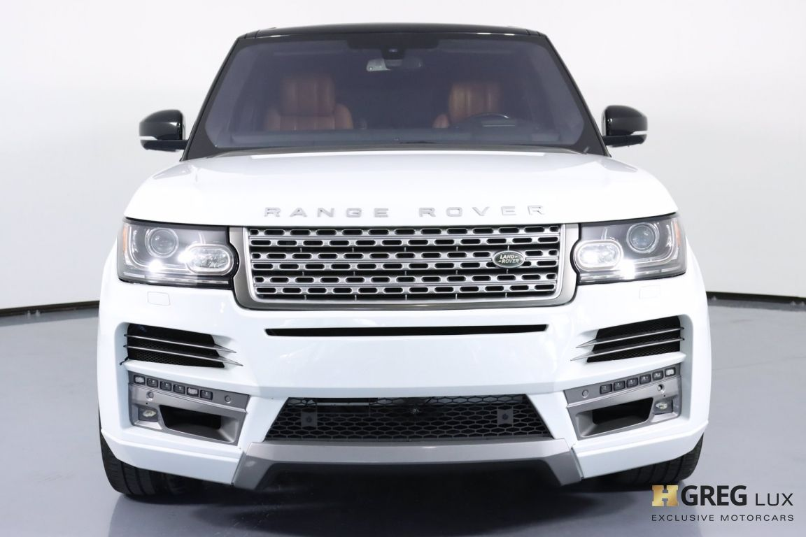2016 Land Rover Range Rover 5.0L V8 Supercharged Autobiography #3