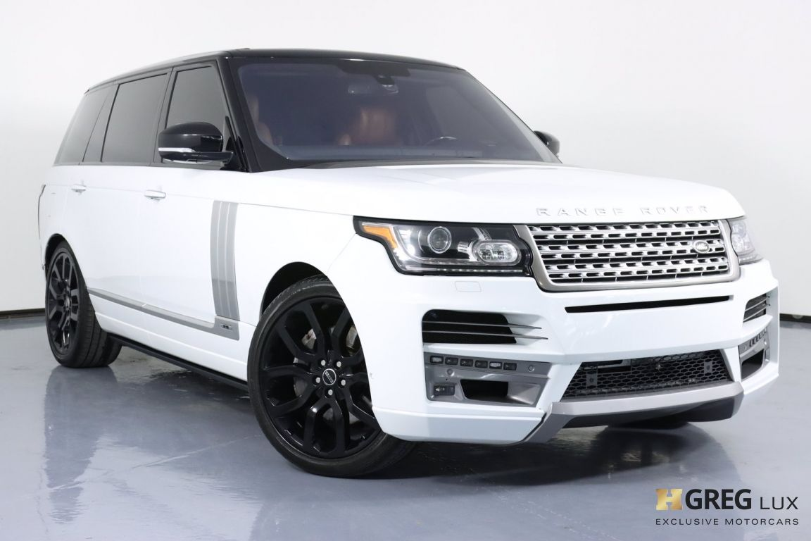 2016 Land Rover Range Rover 5.0L V8 Supercharged Autobiography #0
