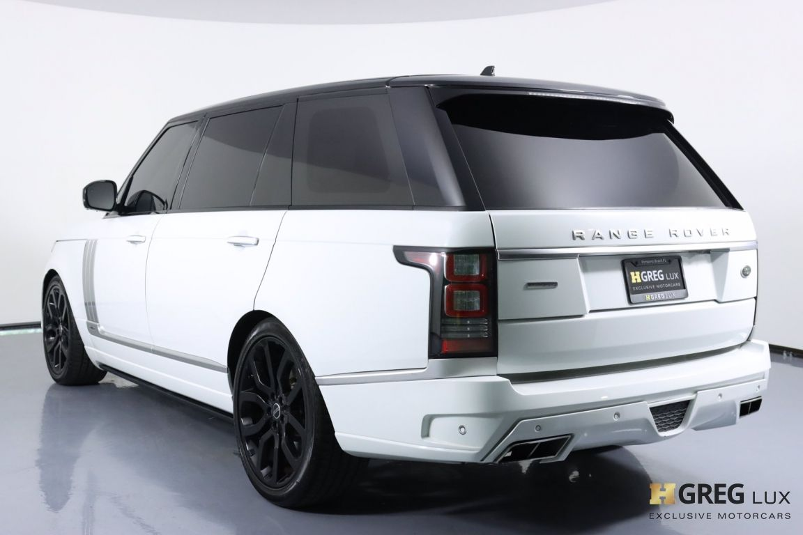 2016 Land Rover Range Rover 5.0L V8 Supercharged Autobiography #22